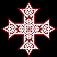 Coptic Cross WB