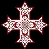 Coptic Cross WB
